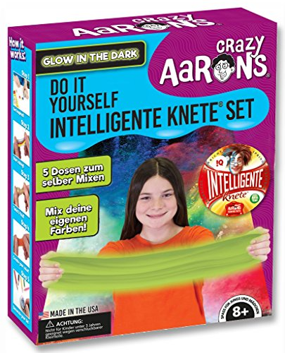 Intelligente Knete DO IT Yourself Set (Leucht Set) BPA- und glutenfrei