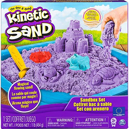 Kinetic Sand farbig mit Unterlage